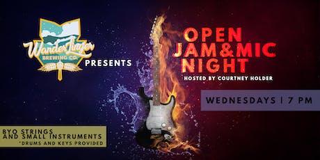 Open Mic & Jam Night - Every Wednesday tickets
