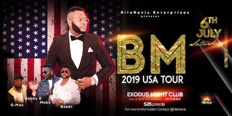BM in Arizona 2019 tickets