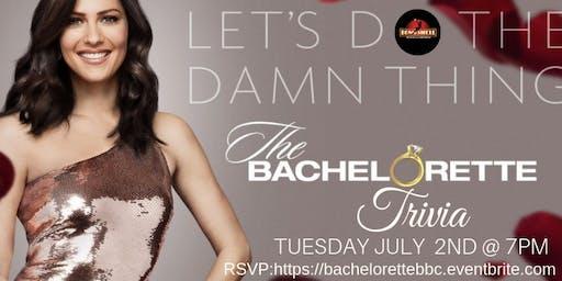 The Bachelorette Trivia at Bombshell Beer Company