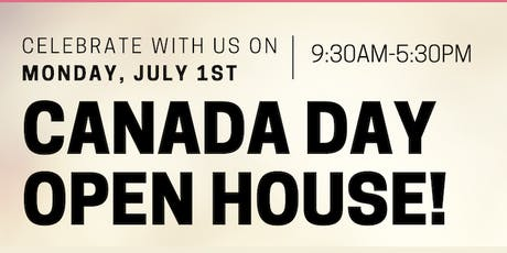 Canada Day Open House tickets