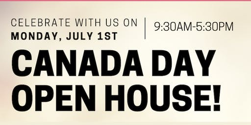 Canada Day Open House