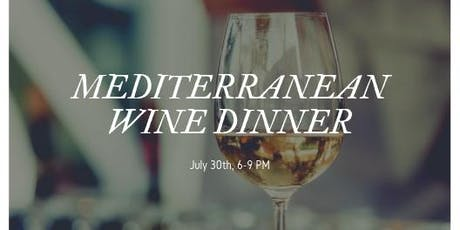 Mediterranean Wine Dinner tickets