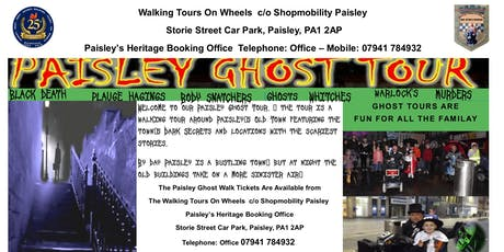 Paisley - Ghost Walking - Tour tickets