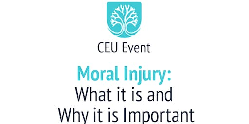 CEU Workshop - Moral Injury