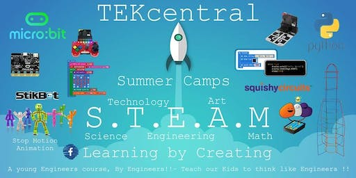 TEKcentral -Coding and Technology Summer Camp WEXFORD