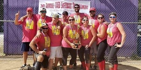 3rd Annual Husereau Team Co-ed Softball Tournament tickets