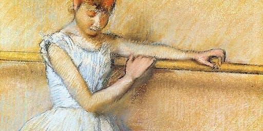 Paint Like an Impressionist: DEGAS Figures