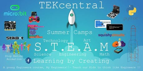TEKcentral - Coding and Technology Summer Camp GOREY tickets
