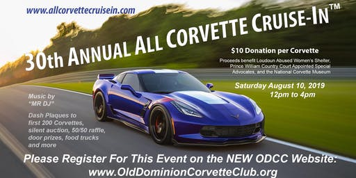 30th Annual All-Corvette Cruise In