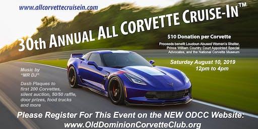 30th Annual All-Corvette Cruise In