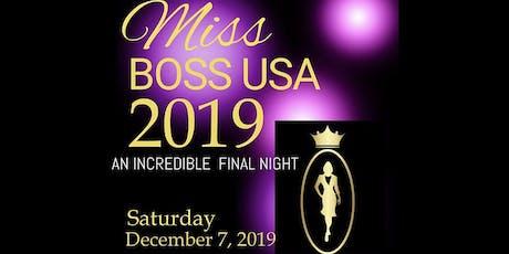 Miss Boss USA 2019 tickets