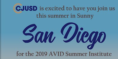 AVID Summer Institute Reception (CJUSD)