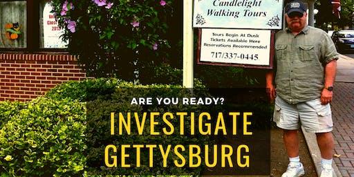 Ghosts of Gettysburg Investigation
