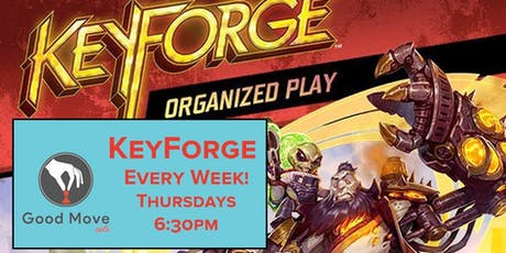 KeyForge Organized Play every Thusday! tickets