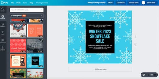 Canva: Graphic Design & Layout (June 18th, 2019)