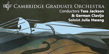 CGO Plays Brahms, Bruch and Schubert tickets