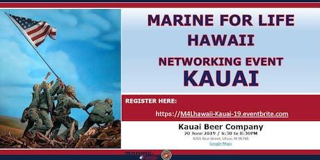 Marine for Life (M4L) Networking Event - Kauai, Hawaii tickets