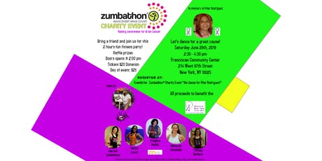 "Zumbathon® Charity Event ""We dance for Pilar Rodriguez!"" tickets"