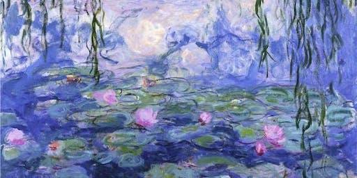 Wander like Monet: Portable Watercolor