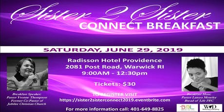 Sister 2 Sister Connect Breakfast 2019 tickets