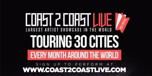 Coast 2 Coast LIVE Artist Showcase Amsterdam, NL - $50K Grand Prize