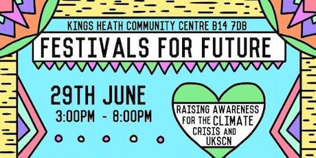 Festivals for Future tickets