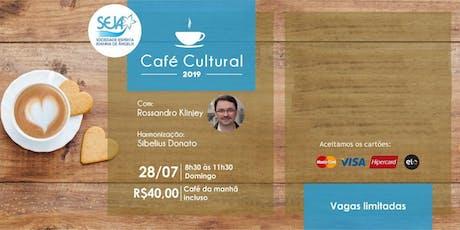 Café Cultural com Rossandro Klinjey 2019 ingressos