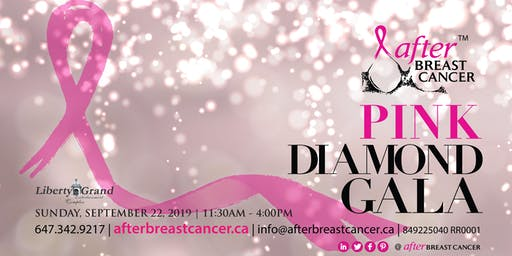 after BREAST CANCER Pink Diamond Gala