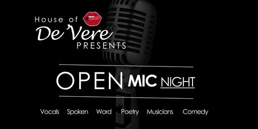 Open Mic at House of De'Vere