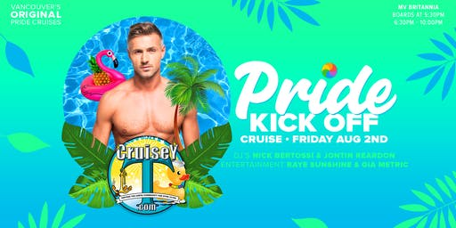 CruiseyT - Pride Kick Off Cruise