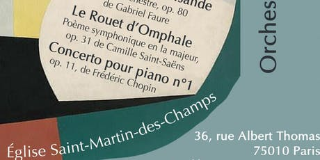 CONCERT SYMPHONIQUE FAURE-SAINT-SAENS-CHOPIN tickets