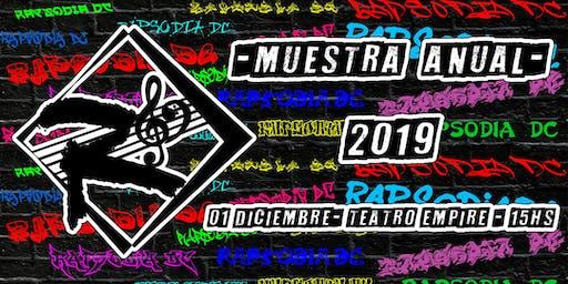 MUESTRA ANUAL 2019 - RAPSODIA DC