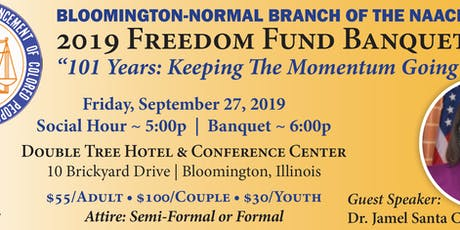 2019 NAACP Freedom Fund Banquet tickets