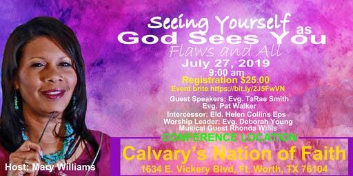 2019 Seeing Yourself As God Sees You- Flaws and All Women's Conference