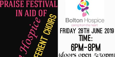 Praise Festival In Aid Of Bolton Hospice tickets