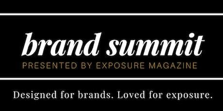Exposure Brand Summit tickets