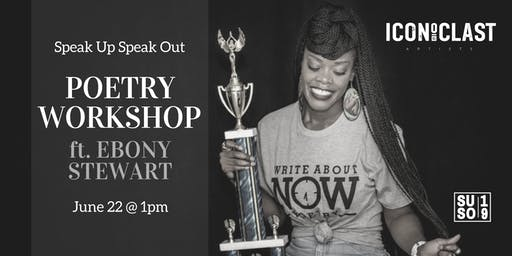 Poetry Workshop w/ Ebony Stewart