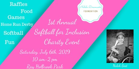 1st Annual Softball for Inclusion Charity Event tickets