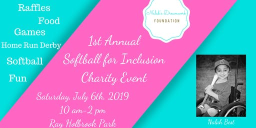 1st Annual Softball for Inclusion Charity Event