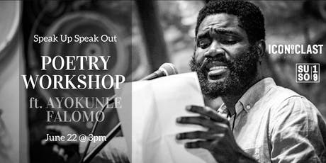 Poetry Workshop w/ Ayokunle Falomo tickets