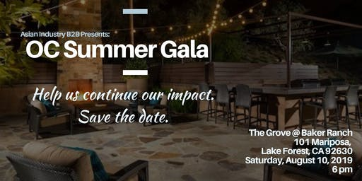AIB2B Presents OC Summer Gala