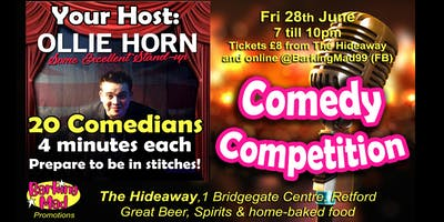 Barking Mad Comedy Competition - Round 2