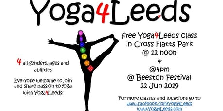 Free Yoga Class by Yoga4Leeds tickets