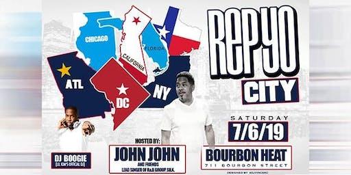 Rep Yo City Party W/John John (of R&B Group, Silk) & Friends