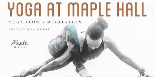 Yoga at Maple Hall