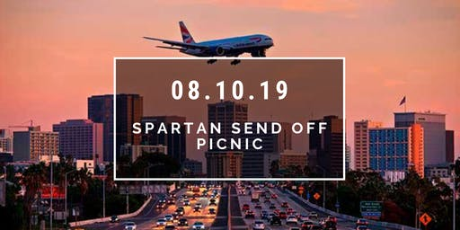 Spartan Send Off Picnic