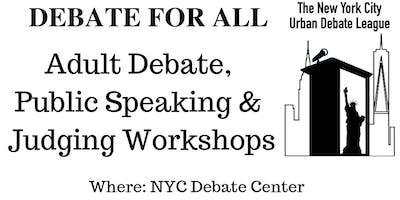 NYC ***** Debate Workshops
