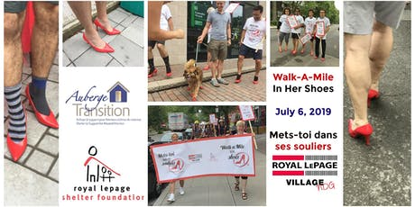 Walk a Mile in Her Shoes 2019 billets