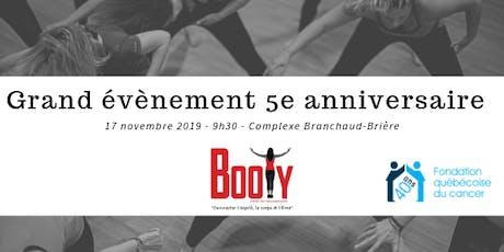 """Grand Évènement BooTy® - 5e anniversaire """"Tous Ensemble"""" tickets"""