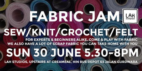 FABRIC JAM tickets